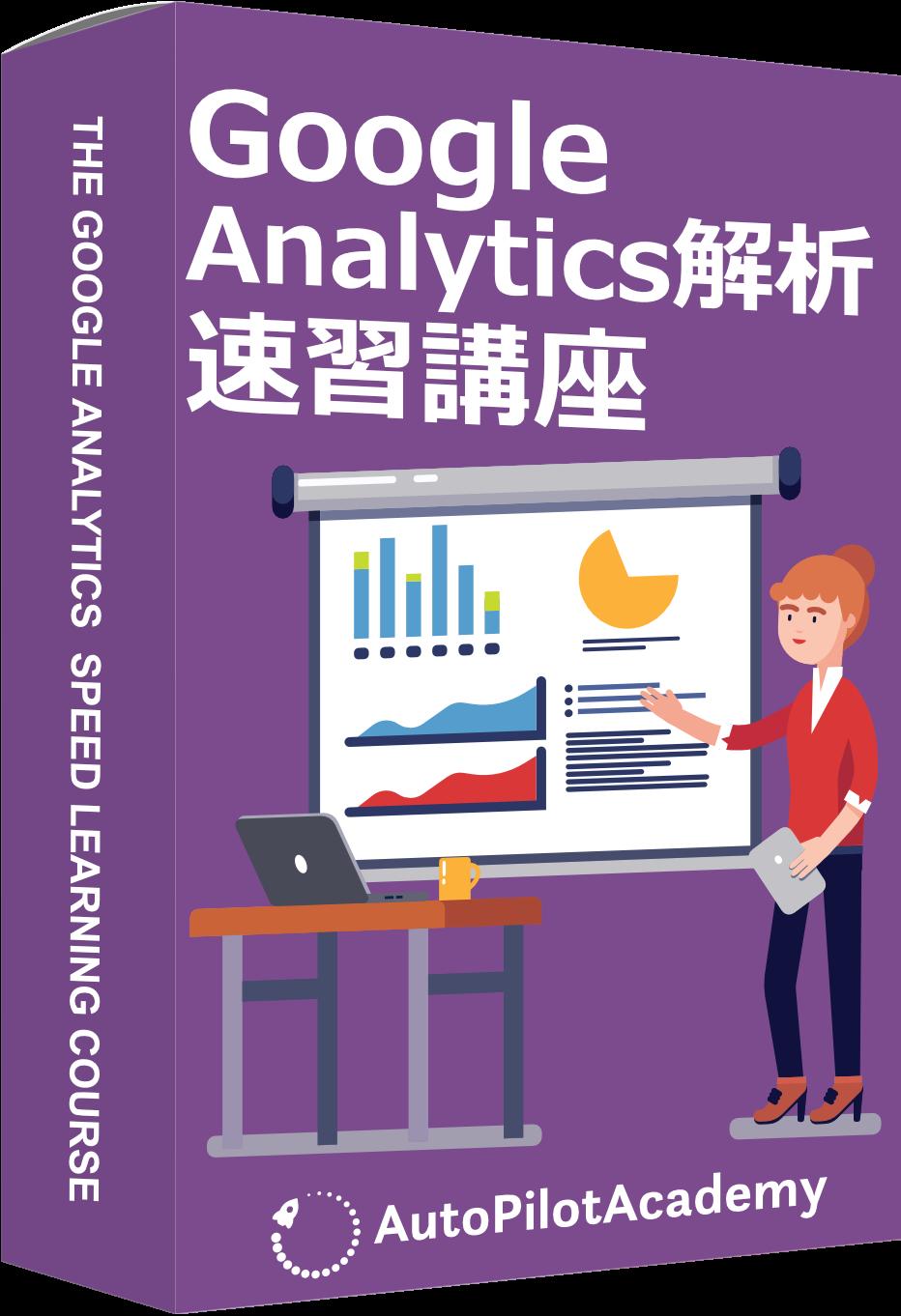 Google Analytics解析速習講座